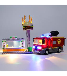 Light Kit For Burger Bar Fire Rescue LED Lighting Set 60214