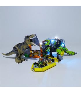 Light Kit For T. rex vs Dino-Mech Battle LED Lighting Set 75938