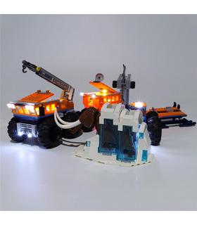 Light Kit For Arctic Mobile Exploration Base LED Lighting Set 60195