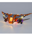 Light Kit For Thanos Ultimate Battle LED Lighting Set  76107