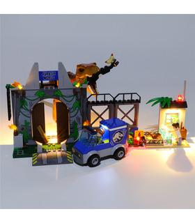 Kit d'éclairage Pour T. rex Breakout Set de projecteurs à LED 10758