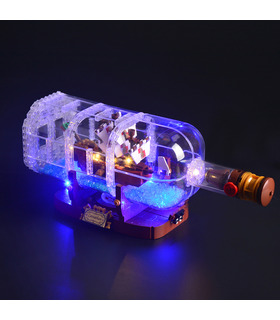 Light Kit For Ship in a Bottle LED Lighting Set 21313