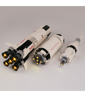 Light Kit For NASA Apollo Saturn V LED Lighting Set 21309