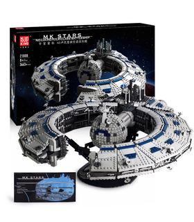 Плесень король 21008 Lucrehulk корабль дроидов управления кораблестроения комплект блоки игрушки