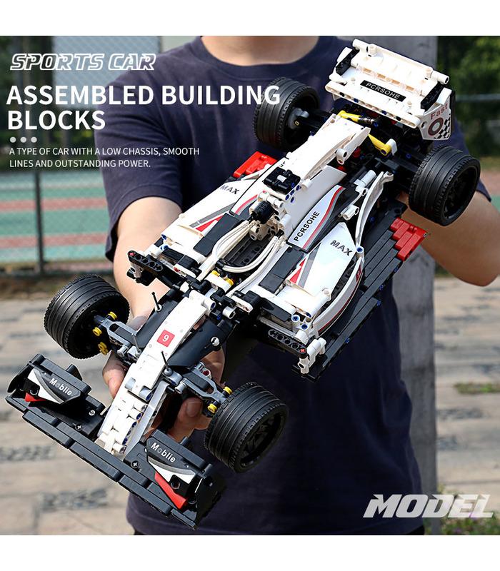 MOULD KING 13117 City F1 Racing Car Building Blocks Toy Set