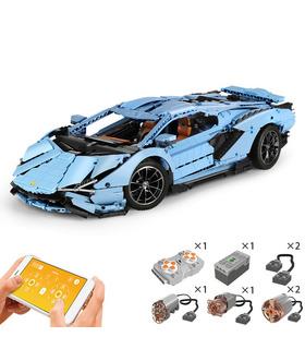MOULE ROI 13056D Lamborghini Sian FKP 37 Moteur Édition de la Télécommande Blocs de Construction