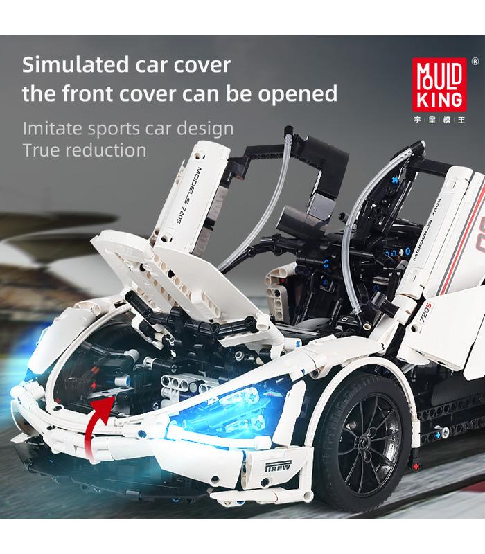 MOULD KING 13145 McLaren 720s Sports Car Building Blocks Toy Set