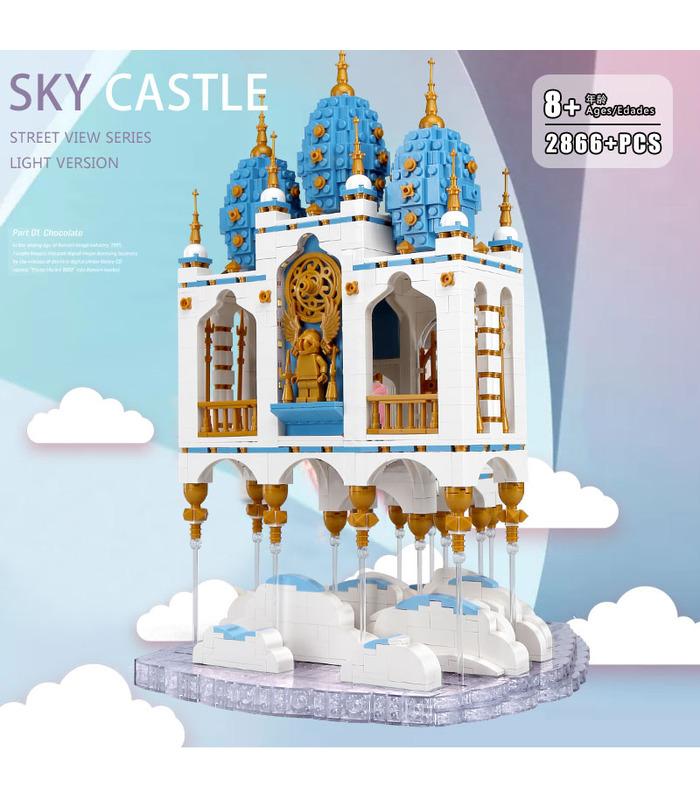 MOULD KING 16015 Sky Castle Building Blocks Toy Set