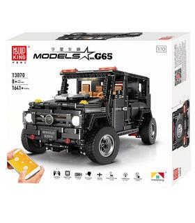 MOLDE REY 13070 Benz G65 Off-Road del Vehículo de Control Remoto de los Bloques de Construcción de Juguete Set