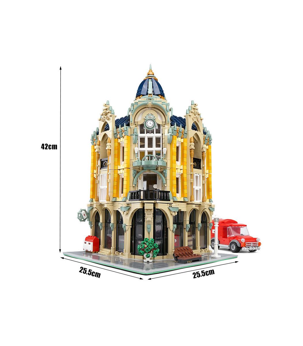 Moule Roi 16010 Coin Bureau De Poste De Blocs De Construction Jouets Set Buildingtoystore Com