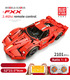 MOULD KING 13085 Ferrari FXX Supercar Remote Control Building Blocks Toy Set