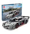 MOULD KING 13110 Lamborghini Poison Creative Idea Veneno Building Blocks Toy Set