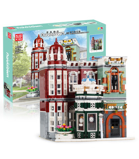 MOULD KING 16005 Antique Collection Shop Building Blocks Toy Set