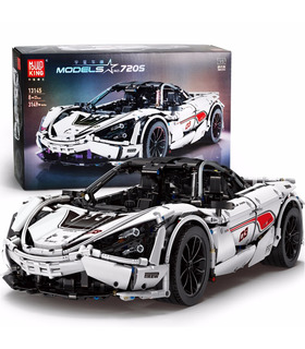 MOULD KING 13145 McLaren 720s Sports Car Building Blocks Toy Set