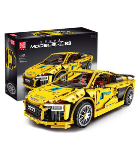 MOULD KING 13127 Audi R8 V10 Sports Car Building Blocks Toy Set