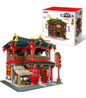 XINGBAO 01002 Chinese Pub Building Bricks Toy Set