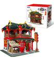 XINGBAO 01002 Chinese Pub Building Bricks Toy Set