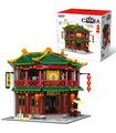 XINGBAO 01021 Xiangming Чайный дом строительство кирпич игрушка набор
