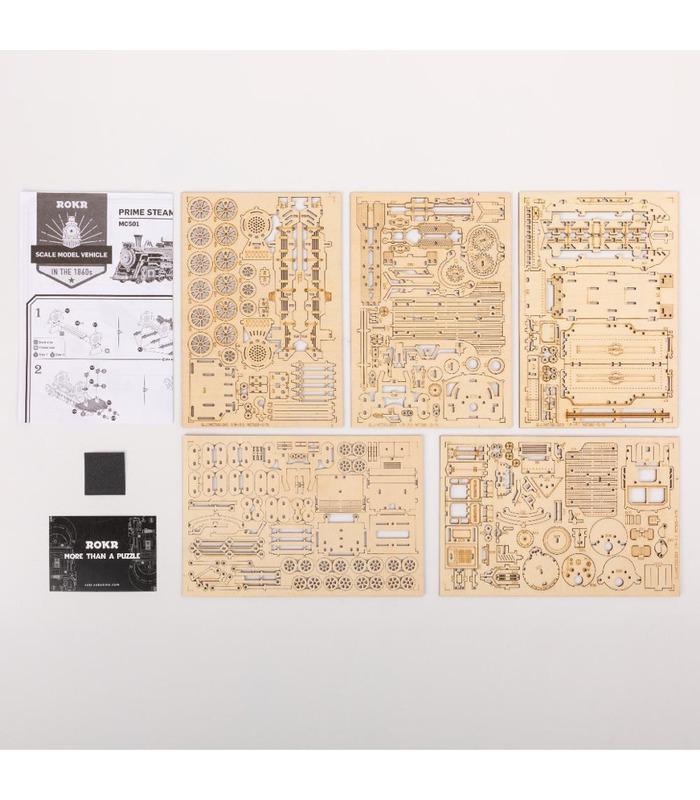 ROKR 3D Puzzle Mechanical Model Wooden Building Toy Kit