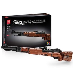 MOLD KING 14002 Das Mauseres 98K Scharfschützengewehr Gun Building Blocks Toy Set