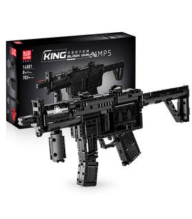 MOLD KING 14001 MP5 Maschinenpistolen-Bausteine Spielzeugset