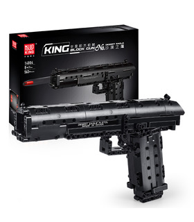MOULD KING 14004 Desert Eagle Pistol Gun Building Blocks Toy Set