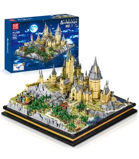 MOLDE REY 22004 a la Escuela Hogwarts de Magia y Hechicería Castillo de Bloques de Construcción de Juguete Set