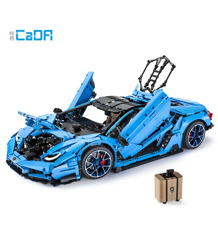 CaDA C61041 Lamborghini Centenario Supercar Master Series Building Blocks Toy Set