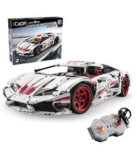 CaDA C61018W Lamborghini Huracan LP610-4 Motor Edition Building Blocks Toy Set