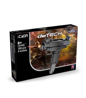 Double Eagle CaDA C81008 Mini UZI Submachine Gun Building Blocks Toy Set