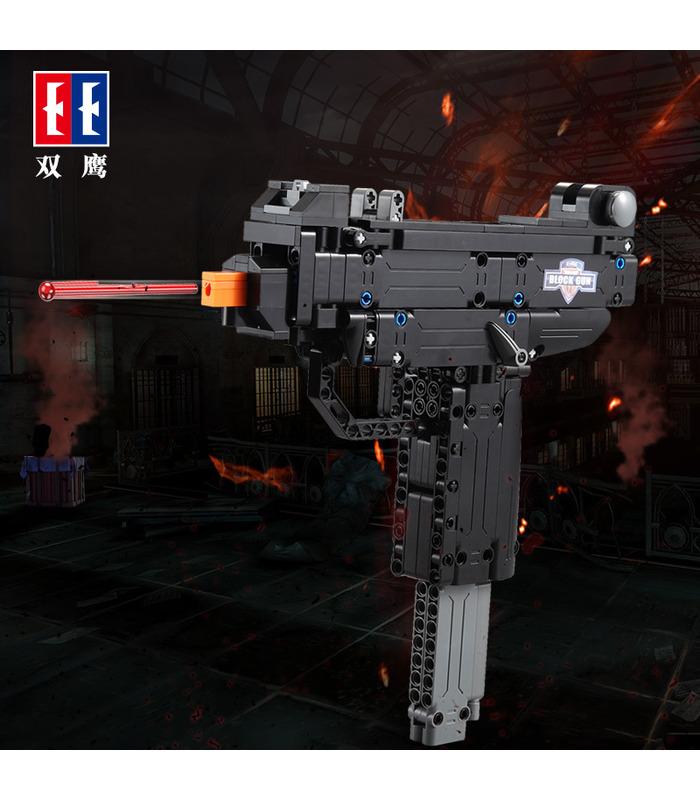 Двойной Орел Када C81008 Мини Узи пистолет Пистолет строительные блоки игрушки установить