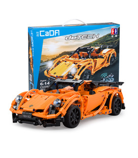Double Eagle CaDA C51051 Porsche 918 Building Blocks Toy Set