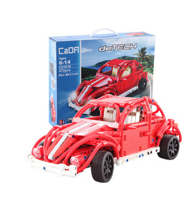Double Eagle CaDA C51016 Volkswagen Beetle Building Blocks Toy Set