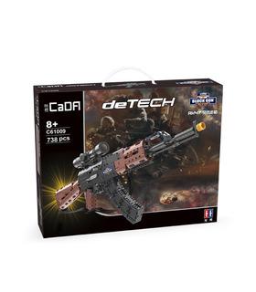 CaDA C61009 de Asalto AK-47 Rifle Pistola de Bloques de Construcción de Juguete Set
