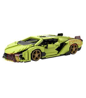 MOULD KING 10011 Lamborghini Sian Sports Car Building Blocks Toy Set