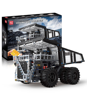 MOULD KING 13170 Mining Truck Liebherr T284 Building Blocks Toy Set