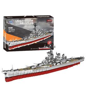 XINGBAO 06030 The Missouri Battleship Building Bricks Toy Set