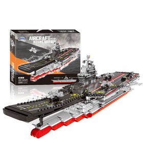 XINGBAO 06020 Aircraft Carrier Building Bricks Toy Set