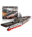 XINGBAO 06020 Aircraft Carrier Building Bricks Toy Set