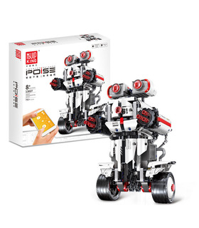 MOLD KING 13027 Intelligentes programmierbares RC DIY Roboter-Baustein-Spielzeugset