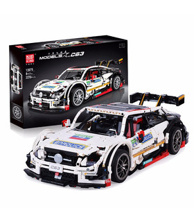 MOULD KING 13075 AMG C63 DTM Sport Racing Car Building Blocks Toy Set
