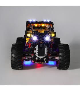 Light Kit For 4X4 X-treme Off-Roader LED Lighting Set 42099