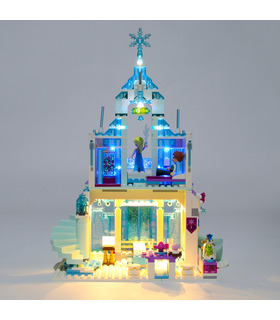 Light Kit For Elsa's Magical Ice Palace LED Lighting Set 41148