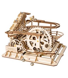ROKR 3D Puzzle 4 Marble Run Spielarten Wooden Building Toy Kit