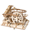 ROKR 3D Puzzle Marble Run Game Waterwheel Wooden Building Toy Kit