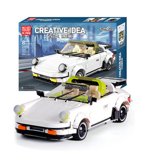 MOULD KING 13103 Porche 911 Targa Creative Idea Building Blocks Toy Set