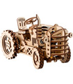 ROKR 3D Puzzle Movable Tractor Wooden Building Toy Kit