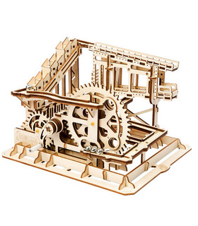 ROKR 3D Puzzle Marble Squad Run Game Wooden Building Toy Kit