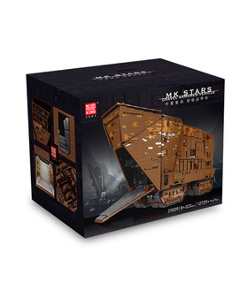 MOULD KING 21009 UCS Sandcrawler Star Wars Remote Control Building Blocks Toy Set