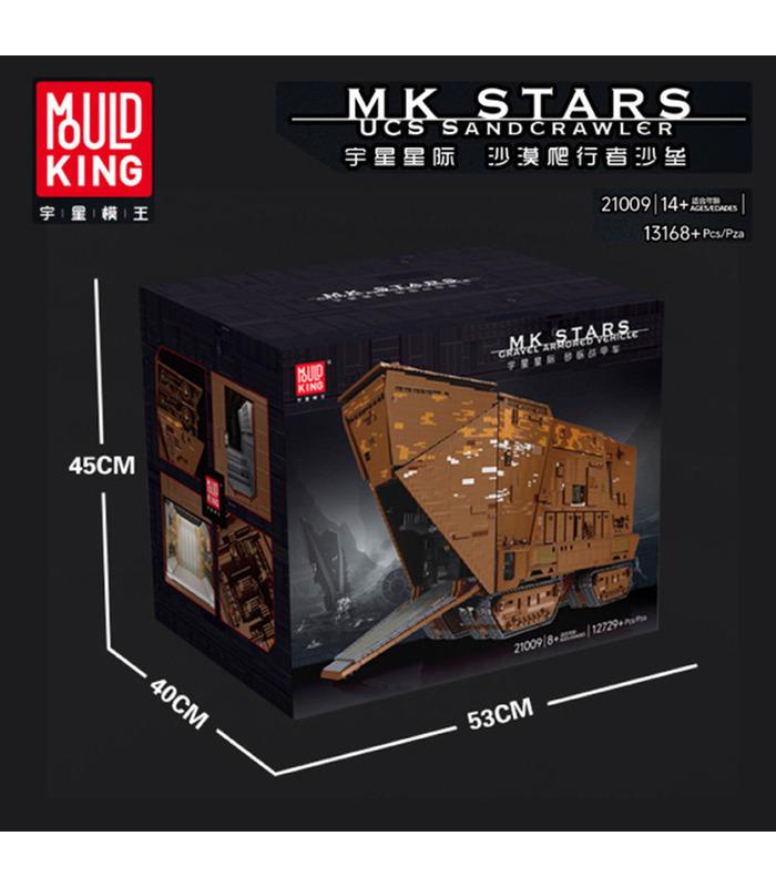 MOULD KING 21009 UCS Sandcrawler Star Wars Remote Control Building Blocks Toy Set